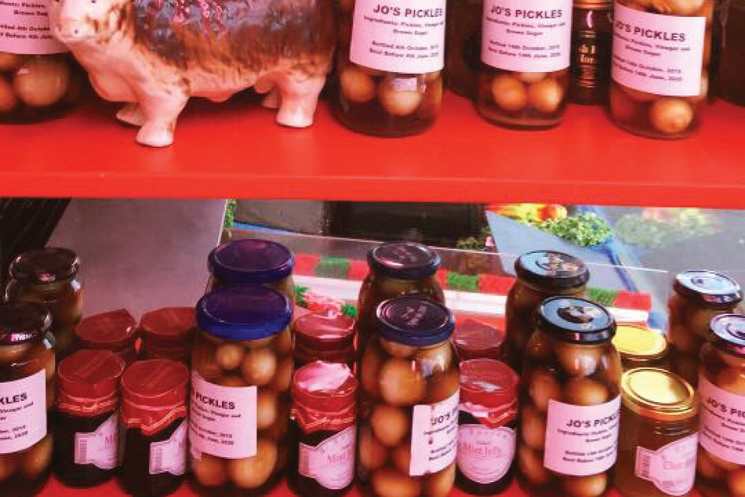 Pickled Onions Oswestry M Battams Butchers Shropshire