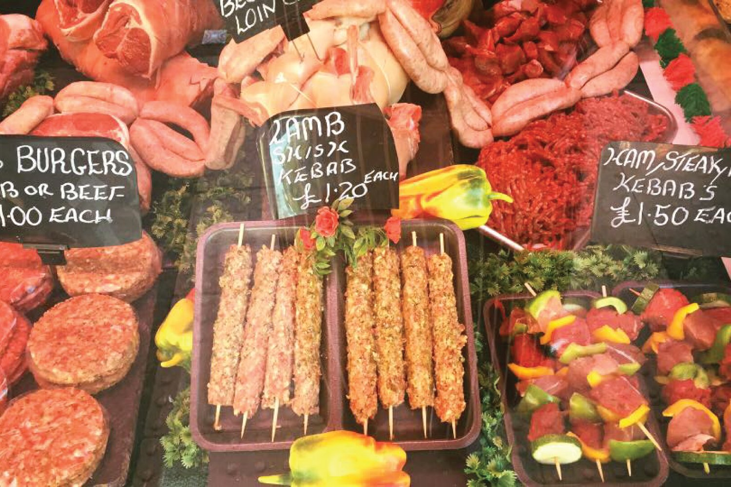 Lamb Kebabs Oswestry Kebabs Shropshire Oswestry M Battams Butchers