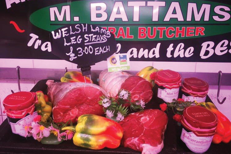 Lamb Steaks M Battams Butchers Oswestry Shropshire