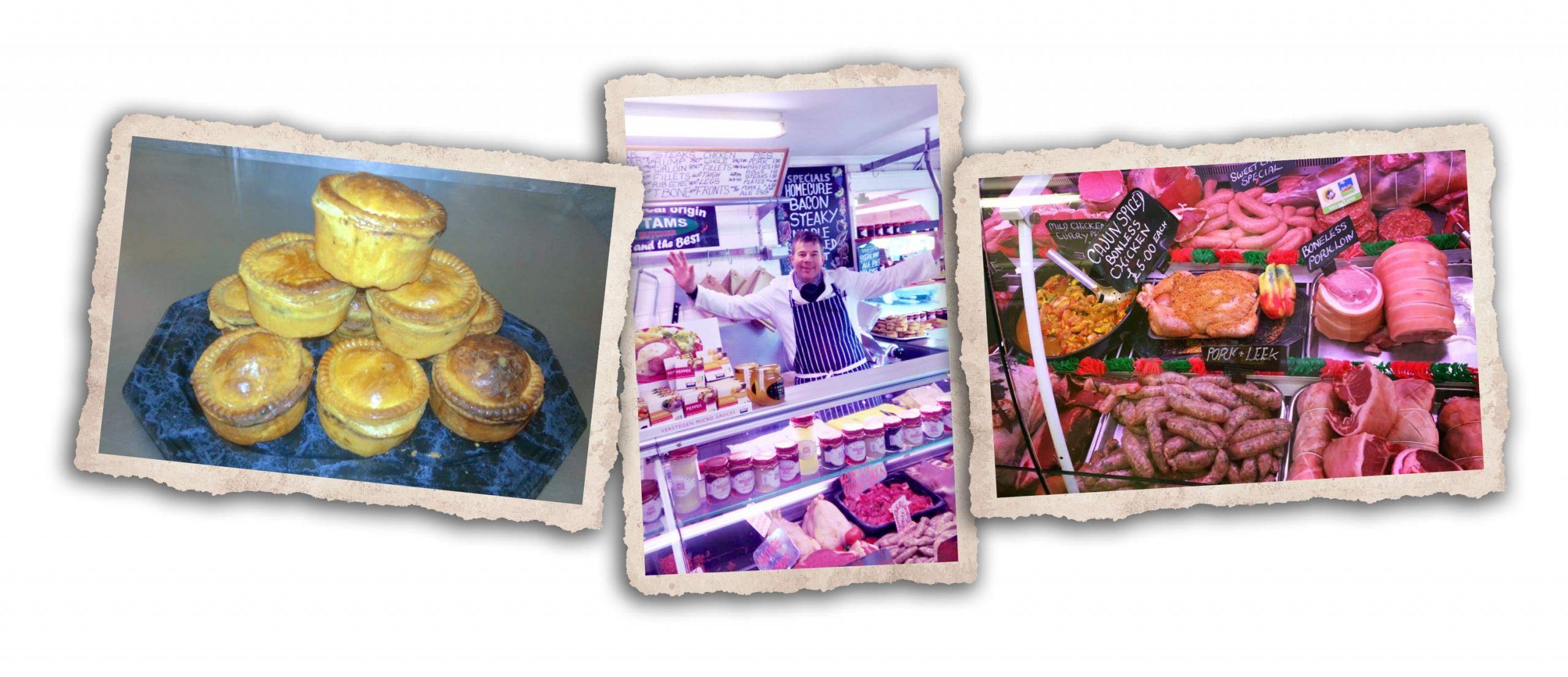 Butchers in Oswestry Shropshire M Battams Butchers