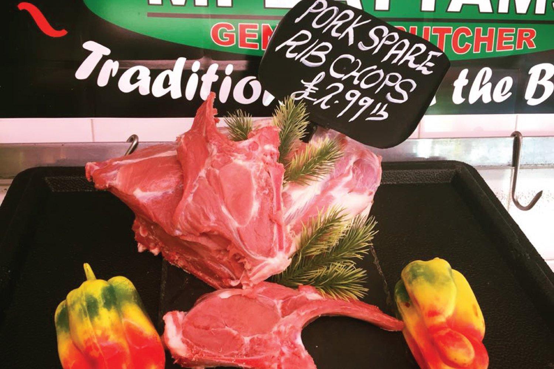 Pork Spare Rib Chops Oswestry Shropshire M Battams Butchers