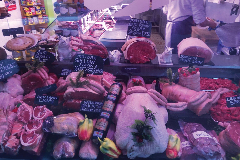 Turkeys Oswestry M Battams Butchers Shropshire
