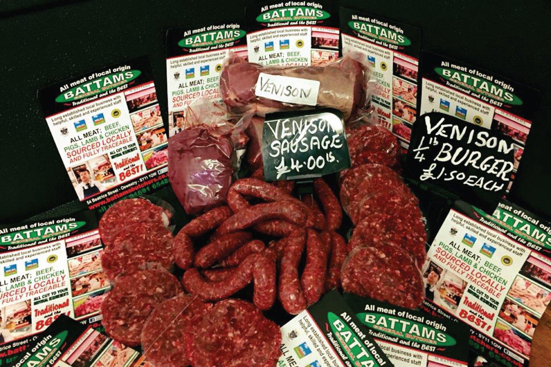 Venison M Battams Butchers Oswestry Shropshire