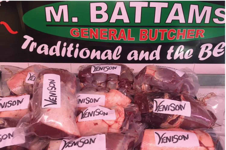 Loin Of Venison Shropshire Oswestry M Battams Butchers