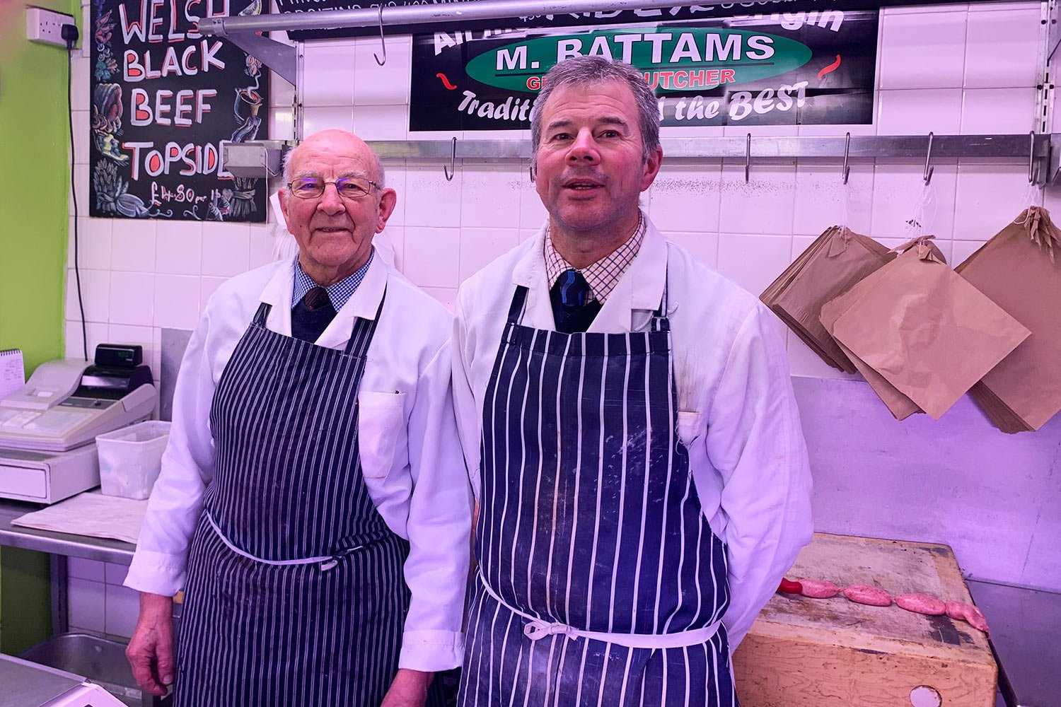 Battams Butchers Oswestry