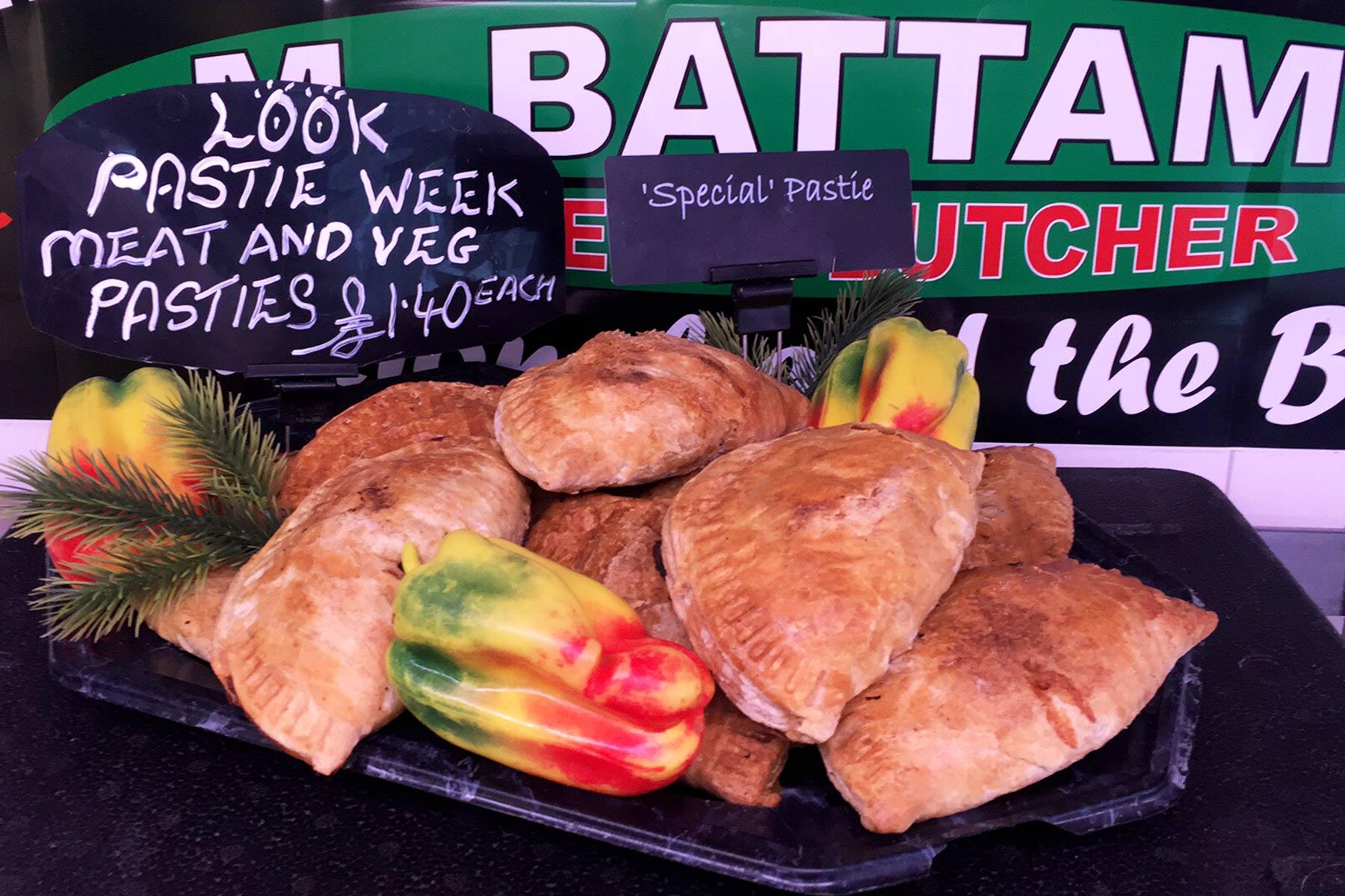 Oswestry Butcher cornish pasty